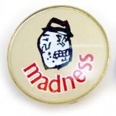 Madness - 'Head' Prismatic Crystal Badge